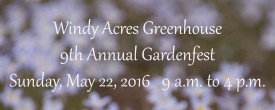 Gardenfest To Benefit Local Rescues