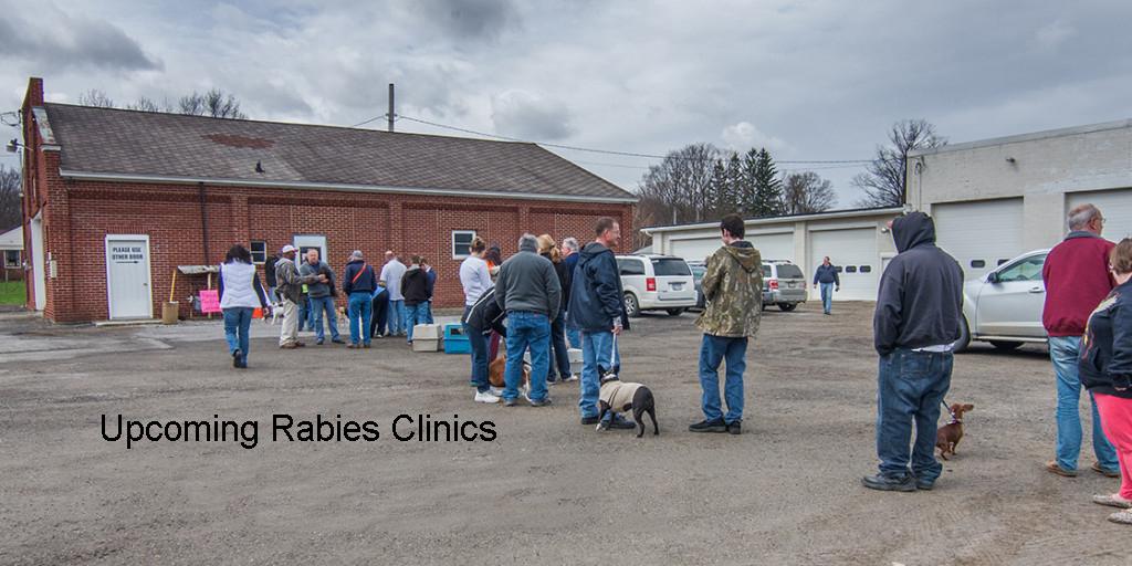 2020 Rabies Clinics
