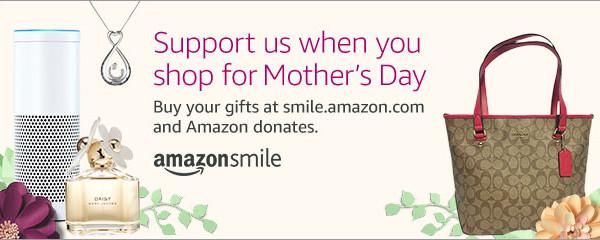 Amazon Smile gives when you shop…