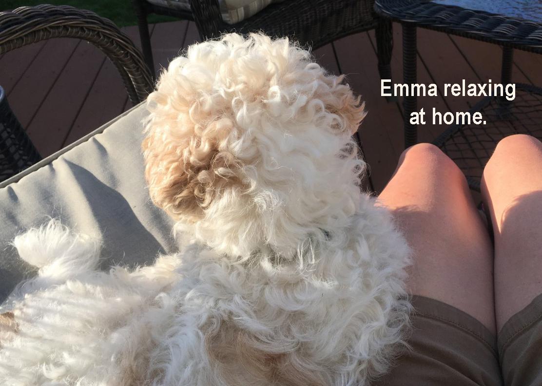 Emma at home